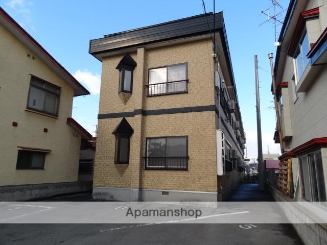 青森県弘前市、弘前学院大前駅徒歩13分の築20年 2階建の賃貸アパート