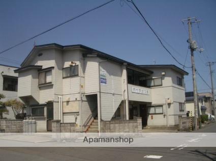 青森県弘前市、弘前東高前駅徒歩3分の築32年 2階建の賃貸アパート