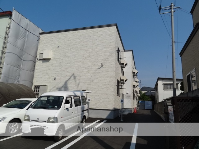 青森県弘前市、弘前駅徒歩15分の新築 2階建の賃貸アパート
