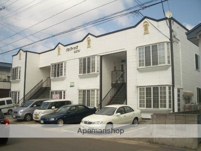 青森県弘前市の築23年 2階建の賃貸アパート