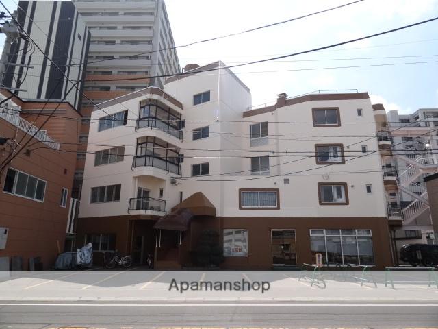 青森県弘前市、弘前駅徒歩6分の築37年 5階建の賃貸マンション