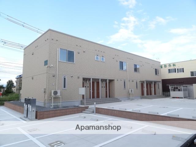 青森県弘前市、弘前駅徒歩17分の築2年 2階建の賃貸アパート