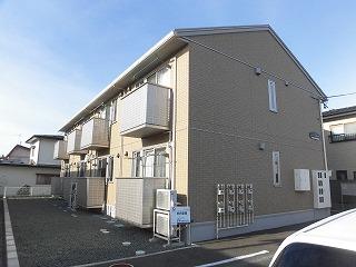 岩手県盛岡市、青山駅徒歩10分の築3年 2階建の賃貸アパート