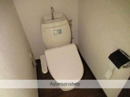 岩手県盛岡市館向町[1K/21.87m2]のトイレ