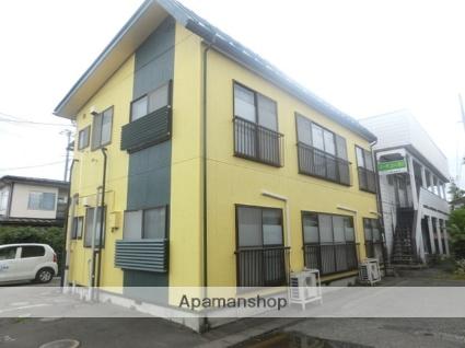 岩手県盛岡市、青山駅徒歩7分の築33年 2階建の賃貸アパート