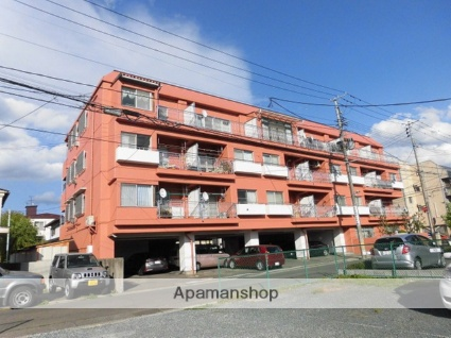 岩手県盛岡市の築40年 4階建の賃貸マンション