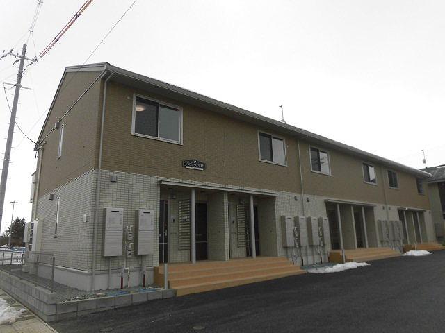 岩手県盛岡市、盛岡駅徒歩55分の新築 2階建の賃貸アパート