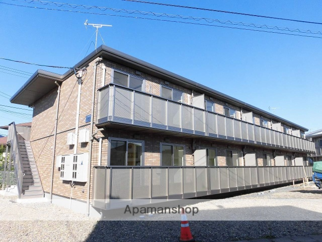 岩手県盛岡市の新築 2階建の賃貸アパート