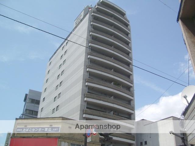 岩手県盛岡市、盛岡駅徒歩11分の築23年 14階建の賃貸マンション