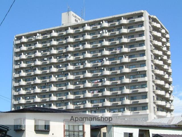 岩手県盛岡市、盛岡駅徒歩8分の築31年 14階建の賃貸マンション