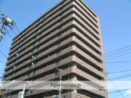 岩手県盛岡市、盛岡駅徒歩6分の築16年 15階建の賃貸マンション