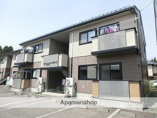 岩手県盛岡市の築15年 2階建の賃貸アパート