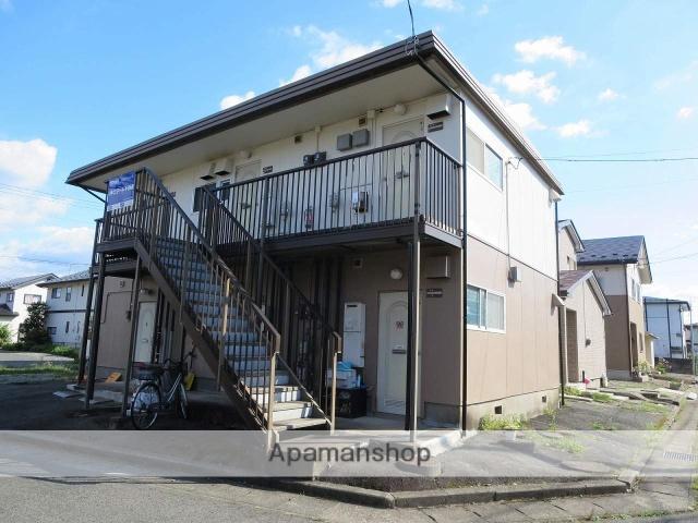 岩手県盛岡市、岩手飯岡駅徒歩6分の築33年 2階建の賃貸アパート