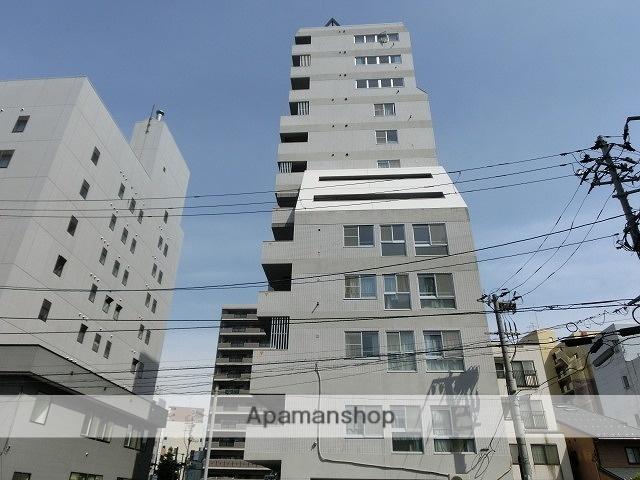 岩手県盛岡市、盛岡駅徒歩9分の築27年 13階建の賃貸マンション
