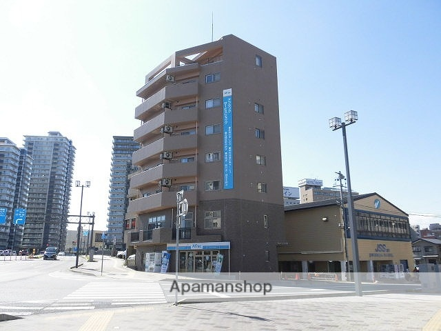 岩手県盛岡市、盛岡駅徒歩8分の築12年 8階建の賃貸マンション
