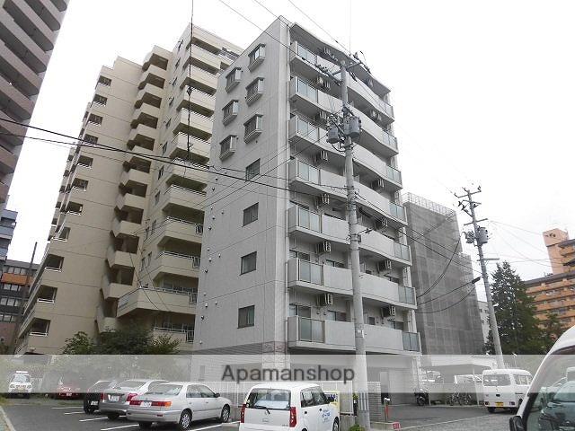 岩手県盛岡市、盛岡駅徒歩7分の築9年 8階建の賃貸マンション