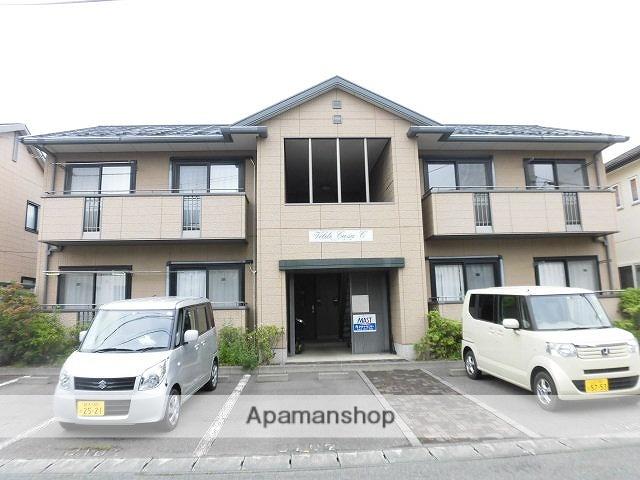 岩手県岩手郡滝沢村の築17年 2階建の賃貸アパート