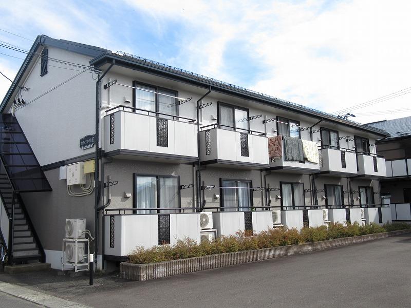 岩手県盛岡市、仙北町駅徒歩10分の築20年 2階建の賃貸アパート