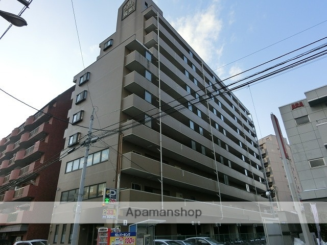岩手県盛岡市の築23年 10階建の賃貸マンション