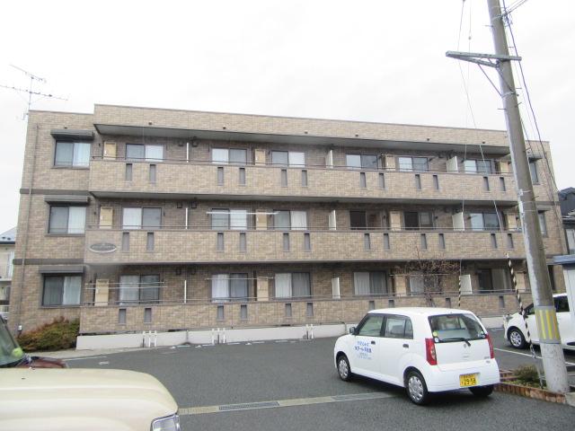 岩手県盛岡市の築13年 3階建の賃貸アパート