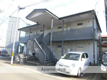 岩手県盛岡市の築26年 2階建の賃貸アパート
