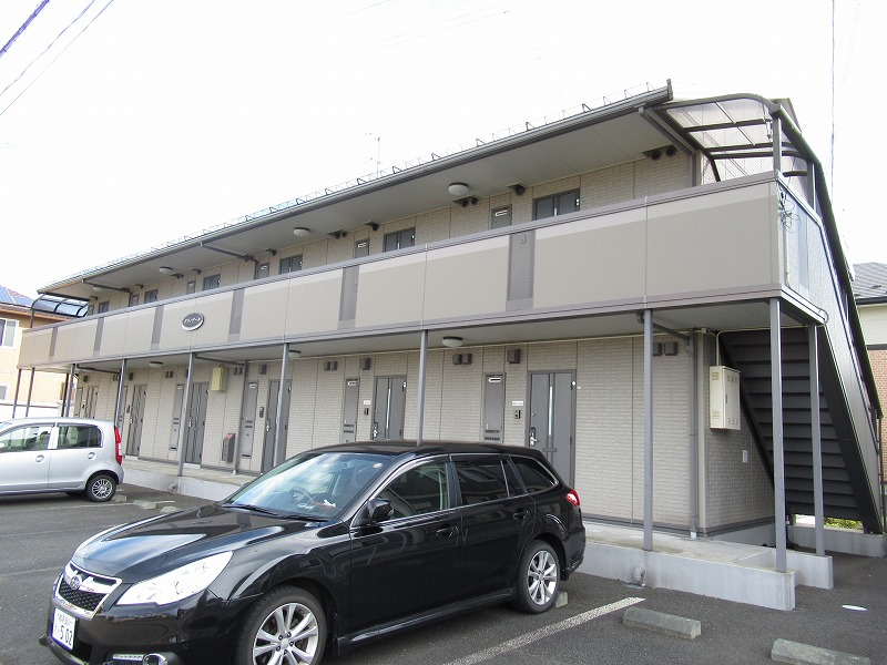 岩手県盛岡市の築13年 2階建の賃貸アパート