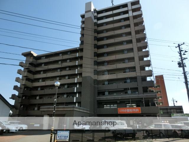 岩手県盛岡市の築9年 14階建の賃貸マンション
