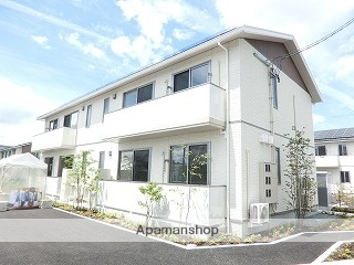 岩手県紫波郡矢巾町、矢幅駅徒歩20分の新築 2階建の賃貸アパート