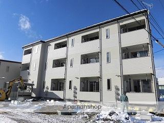 岩手県盛岡市、仙北町駅徒歩16分の新築 3階建の賃貸アパート