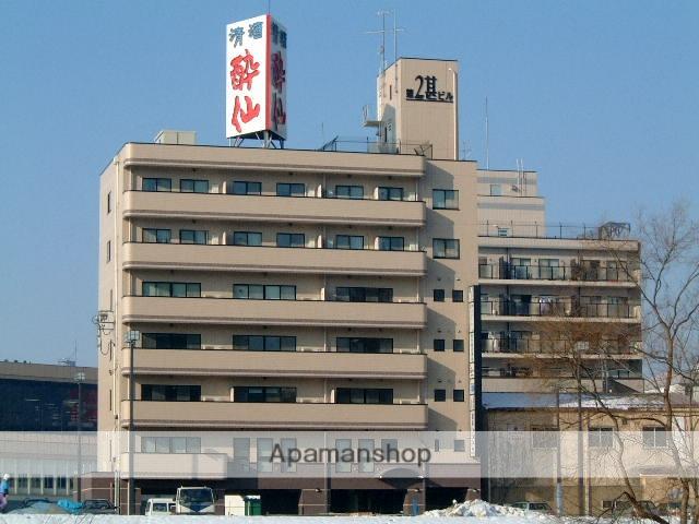 岩手県盛岡市、盛岡駅徒歩3分の築19年 7階建の賃貸マンション