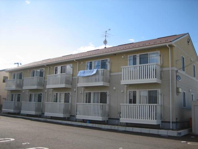 岩手県盛岡市の築9年 2階建の賃貸アパート