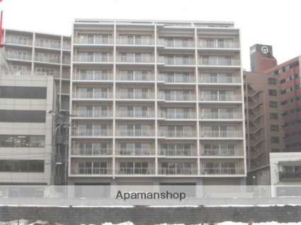 岩手県盛岡市の築9年 10階建の賃貸マンション
