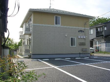 岩手県岩手郡滝沢村、巣子駅徒歩4分の築8年 2階建の賃貸アパート