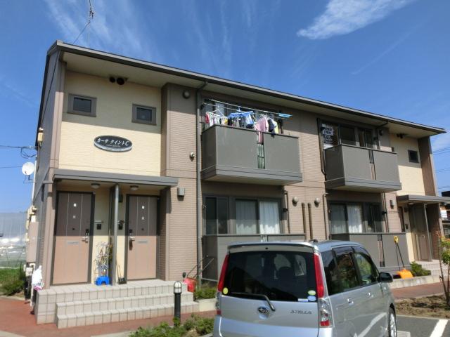 岩手県紫波郡矢巾町、矢幅駅徒歩5分の築11年 2階建の賃貸アパート