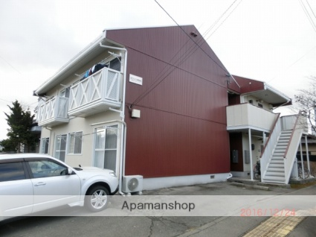 岩手県盛岡市の築27年 2階建の賃貸アパート