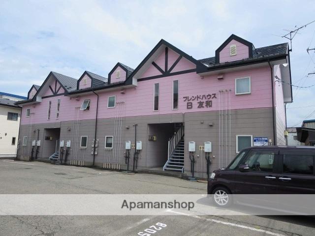 岩手県紫波郡矢巾町の築23年 2階建の賃貸アパート