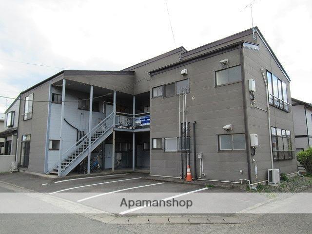 岩手県盛岡市の築32年 2階建の賃貸アパート