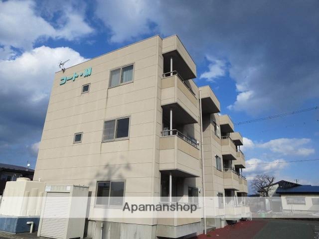 岩手県盛岡市、仙北町駅徒歩38分の築12年 3階建の賃貸マンション