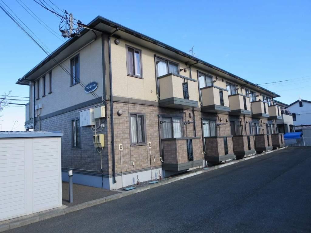 岩手県紫波郡矢巾町、矢幅駅徒歩15分の築13年 2階建の賃貸アパート