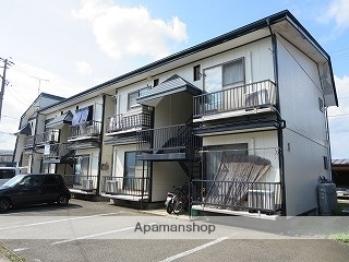 岩手県盛岡市の築35年 2階建の賃貸アパート
