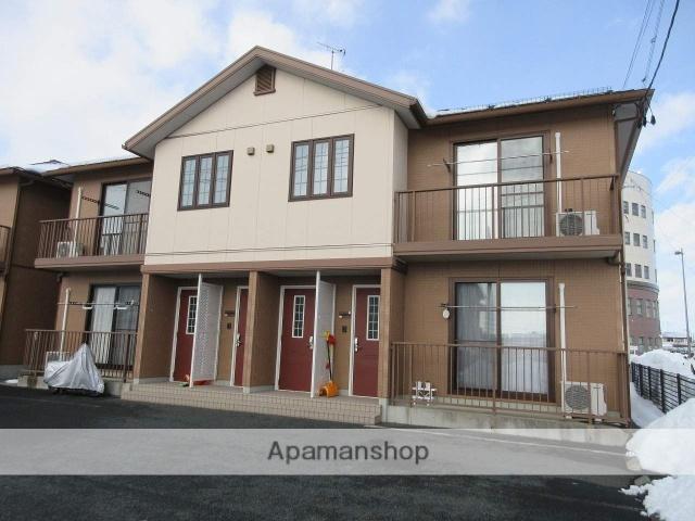 岩手県紫波郡矢巾町、矢幅駅徒歩3分の築9年 2階建の賃貸アパート