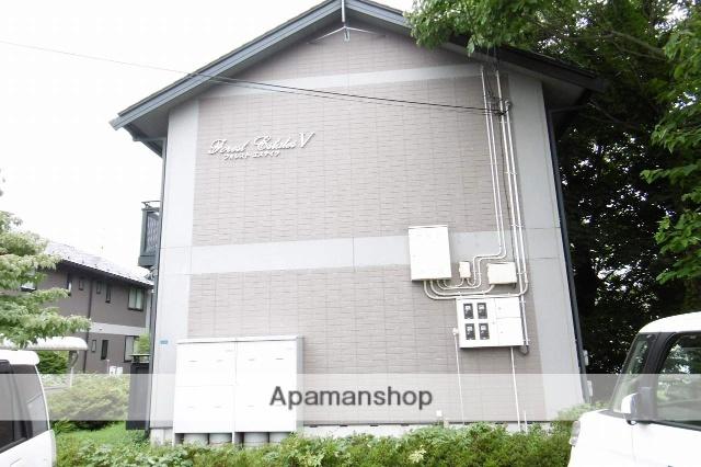 岩手県盛岡市、仙北町駅徒歩22分の築17年 2階建の賃貸アパート