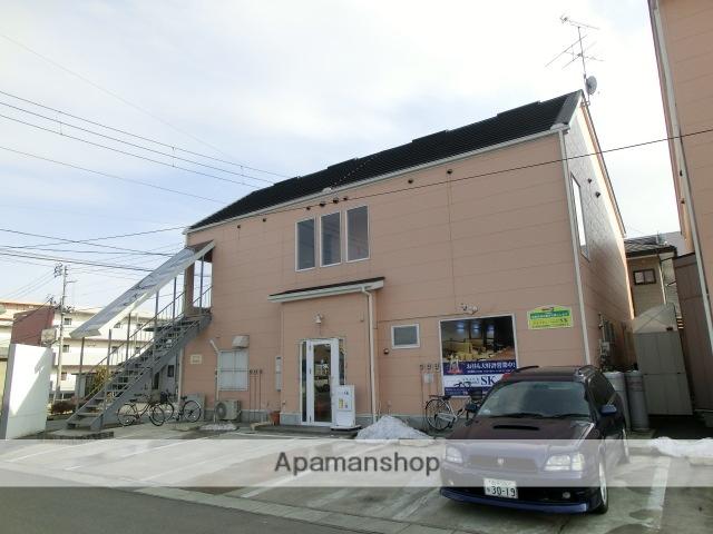 岩手県紫波郡矢巾町、矢幅駅徒歩5分の築10年 2階建の賃貸アパート