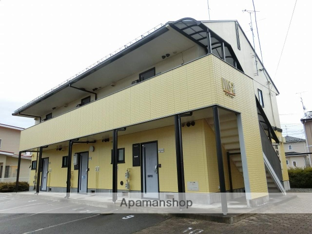 岩手県滝沢市の築23年 2階建の賃貸アパート