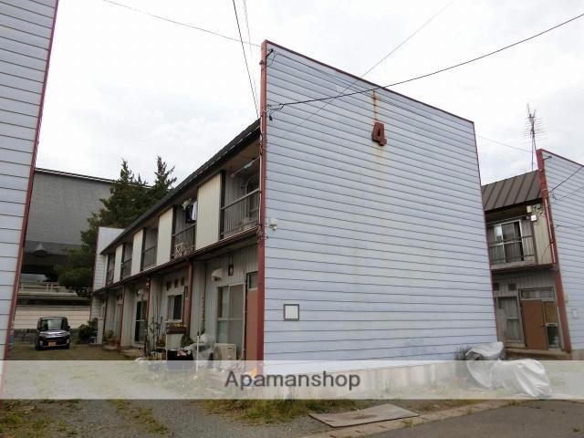 岩手県盛岡市の築40年 2階建の賃貸アパート