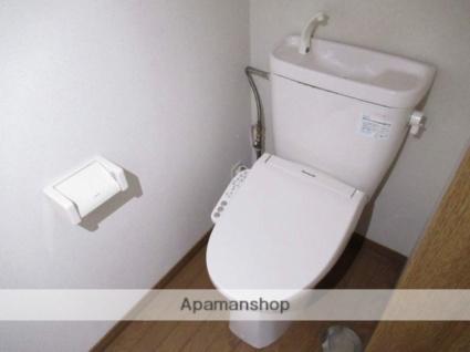 岩手県盛岡市上堂1丁目[1K/26.49m2]のトイレ