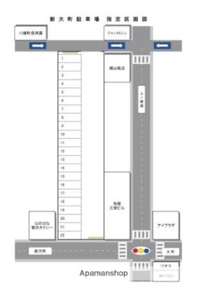 新大町駐車場[駐車場]の間取図