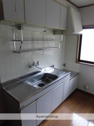 ロイヤルハイツ[2DK/40.57m2]のキッチン