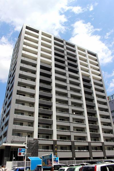 宮城県仙台市宮城野区、あおば通駅徒歩10分の築9年 17階建の賃貸マンション