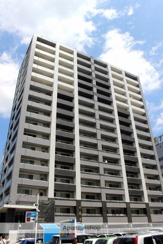 宮城県仙台市宮城野区、あおば通駅徒歩10分の築10年 17階建の賃貸マンション
